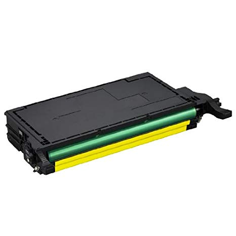 INKUTEN リプレイスメント CLT-Y508L ハイ Yield イエロー Laser Toner Cartridge for use in サムスン CLP-620, CLP-670, CLX-6220 & CLX-6250 Printers (海外取寄せ品)[汎用品]