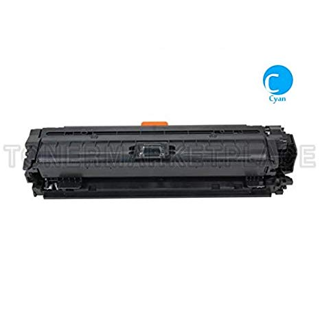 INKUTEN c リプレイスメント Laser Toner Cartridge for Hewlett Packard (HP) CE741A (307A) シアン (海外取寄せ品)[汎用品]