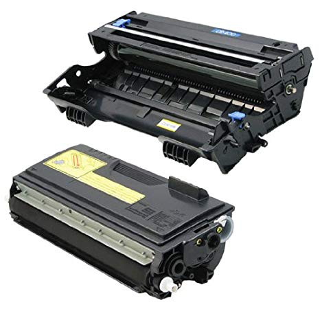 INKUTEN Brother TN460 and DR400 セット of 2 リプレイスメント Laser Toner Cartridge and Drum (海外取寄せ品)[汎用品]
