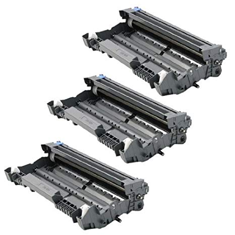 INKUTEN リプレイスメント Brother DR520 (Set of 3-Pack) Laser cartridge Drum Unit (DR-520) (海外取寄せ品)[汎用品]