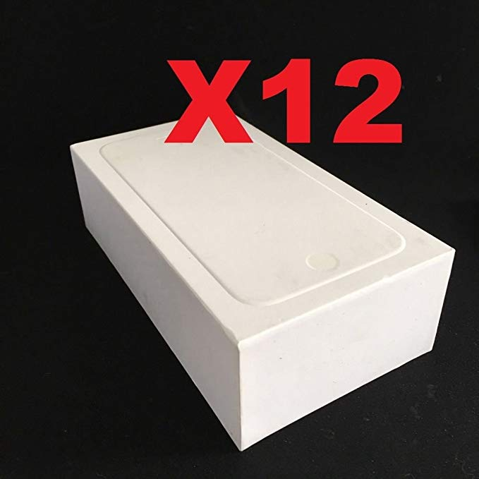 ePartSolution_Lot of 12 Empty Retail ボックス Plain Reseller ボックス Blank Repackage ボックス オンリー for iPhone 6 Plus/iPhone 6S Plus リプレイスメント Part USA Seller (海外取寄せ品)[汎用品]