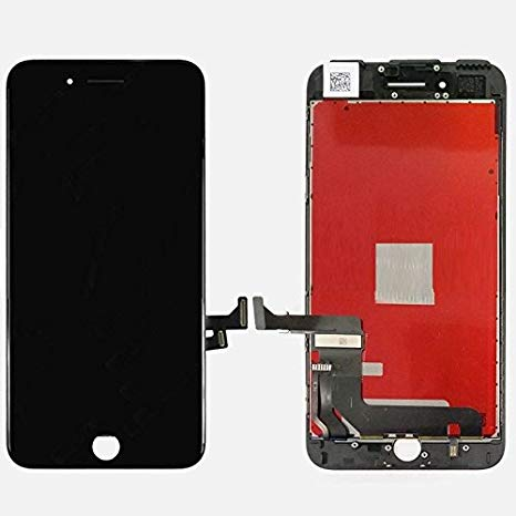 ePartSolution_ LCD ディスプレイ タッチ スクリーン Digitizer Assembly for iPhone 7 リプレイスメント Part USA Seller (Black) (海外取寄せ品)[汎用品]