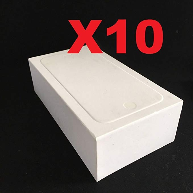 ePartSolution_Lot of 10 Empty Retail ボックス Plain Reseller ボックス Blank Repackage ボックス オンリー for iPhone 6/iPhone 6S リプレイスメント Part USA Seller (海外取寄せ品)[汎用品]