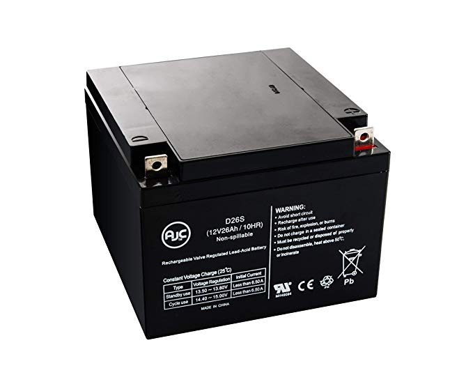 Roof MFG 30-N7-3 12V 26Ah Lawn and ガーデン バッテリー - This is an AJC ブランド Brand リプレイスメント (海外取寄せ品)[汎用品]