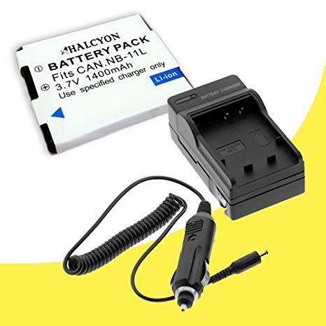 NB-11L Lithium イオン リプレイスメント Batteries + External Rapid Charger for Canon Elph 110 HS, Canon PowerShot A2300, A2400 IS, A3400, A4000 IS, Canon Ixus 125 HS, 240 HS デジタル Cameras DavisMAX NB11L アクセサリー バンドル (海外取寄せ品)[汎用品]