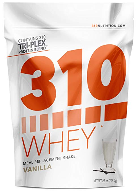 Vanilla Meal リプレイスメント and 310 Shaker   310 Shake Whey Protein パウダー is Gluten Free, Soy Protein Free and Sugar Free   インクルーズ Free Recipe eBook   28 Servings (Includes Shaker) (海外取寄せ品)[汎用品]