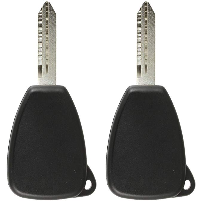 Discount Keyless リプレイスメント Uncut Car Remote フォブ キー コンボ and Uncut Transponder キー Compatible with M3N5WY72XX, OHT692714AA, M3N65981772, ID 46 (2 Pack) (海外取寄せ品)[汎用品]