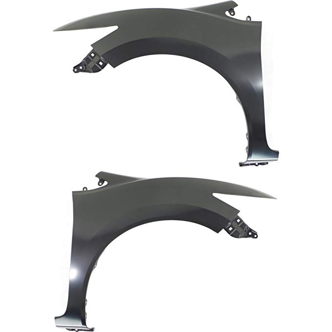 Evan-Fischer EVA1690107141204 Fender for 2014-2015 Honda Civic フロント Left and Right Side セット of 2 スチール プライム (海外取寄せ品)