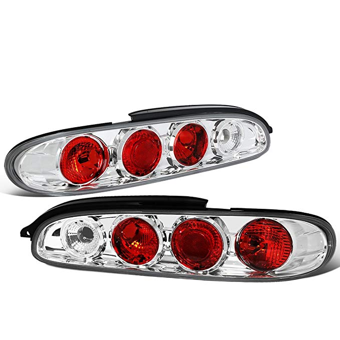 DNA Motoring CLOSE-TLZ-MX6-9297 Altezza スタイル Tail Light クローム [For 93-97 Mazda MX6 MX-6] (海外取寄せ品)