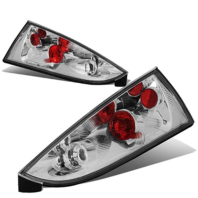 DNA Motoring CLOSE-TLZ-FCS-0004-5 Altezza スタイル Tail Light クローム [For 02-07 Ford フォーカス 5Dr Wagon] (海外取寄せ品)