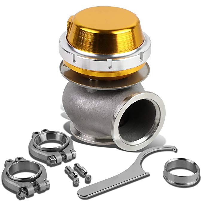 DNA Motoring WG-TS-40MM-T11-GD External Turbo Manifold Wastegate (海外取寄せ品)