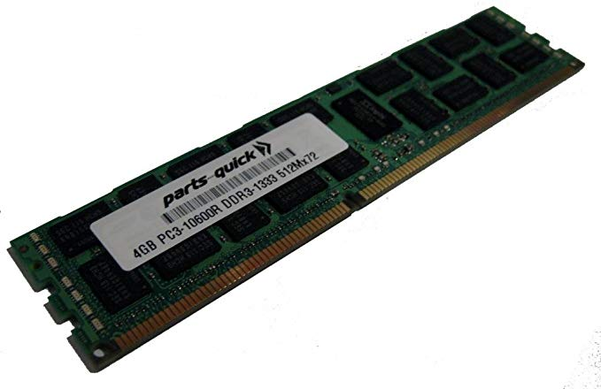 PARTS-QUICK Brand 32GB Memory for Quanta Stratos S210-X22RQ DDR3L PC3-12800L 1600MHz ECC LRDIMM