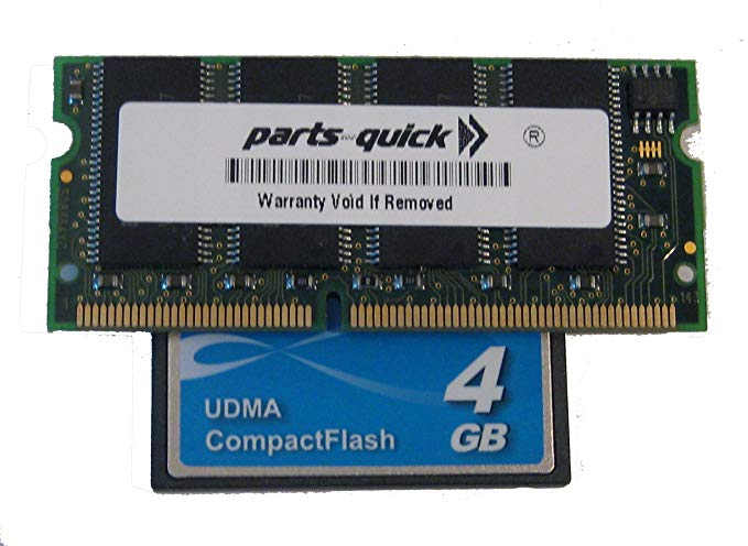 EXM128 128MB メモリ memory and 4GB Compact フラッシュ for Akai MPC2500 (PARTS-クイック BRAND) (海外取寄せ品)