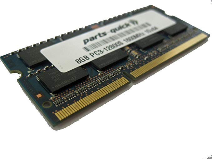 8GB メモリ memory Upgrade for HP ENVY ノート 15-j058ca PC3-12800S 1600MHz Laptop DDR3 SODIMM RAM (PARTS-クイック BRAND) (海外取寄せ品)