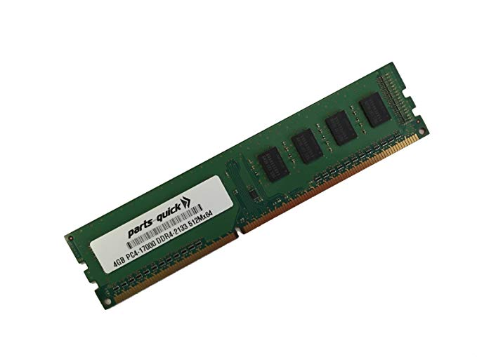4GB メモリ memory for SYNOLOGY RackStation RS2818RP+ DDR4 2133 NON-ECC UDIMM (PARTS-クイック BRAND) (海外取寄せ品)
