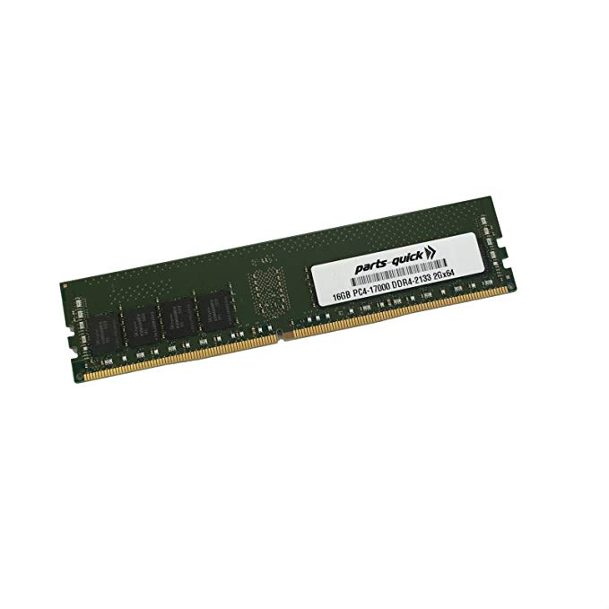 16GB メモリ memory for SYNOLOGY RackStation RS2818RP+ DDR4 2133 NON-ECC UDIMM (PARTS-クイック BRAND) (海外取寄せ品)