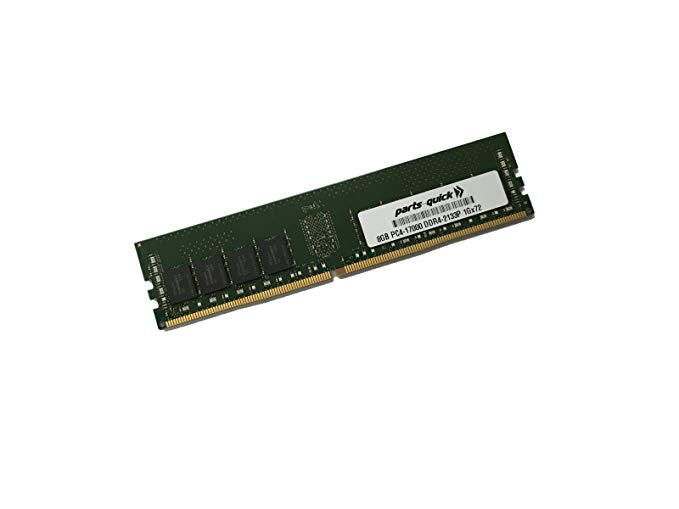 8GB メモリ memory for SYNOLOGY RackStation RS3618xs DDR4 2133 ECC UDIMM (PARTS-クイック BRAND) (海外取寄せ品)
