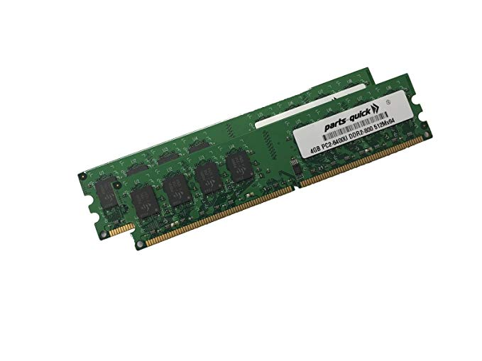 8GB (海外取寄せ品) (2 X 4GB) 4GB) Motherboard Memory for Intel DG41TY Motherboard DDR2 800MHz PC2-6400 240 ピン デスクトップ DIMM RAM (PARTS-クイック BRAND) (海外取寄せ品), くらしのキレイ専門店A.P.E:f281902c --- officewill.xsrv.jp