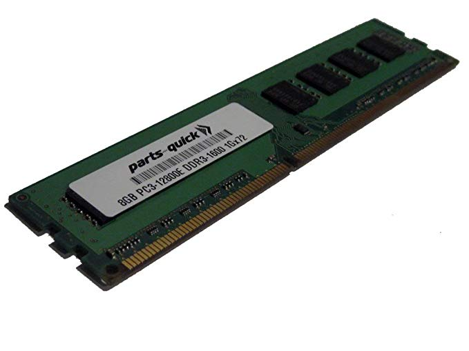 8GB メモリ memory for Supermicro SuperServer 2027GR-TRFH-FM675 DDR3 PC3-12800E ECC RAM Upgrade (PARTS-クイック BRAND) (海外取寄せ品)