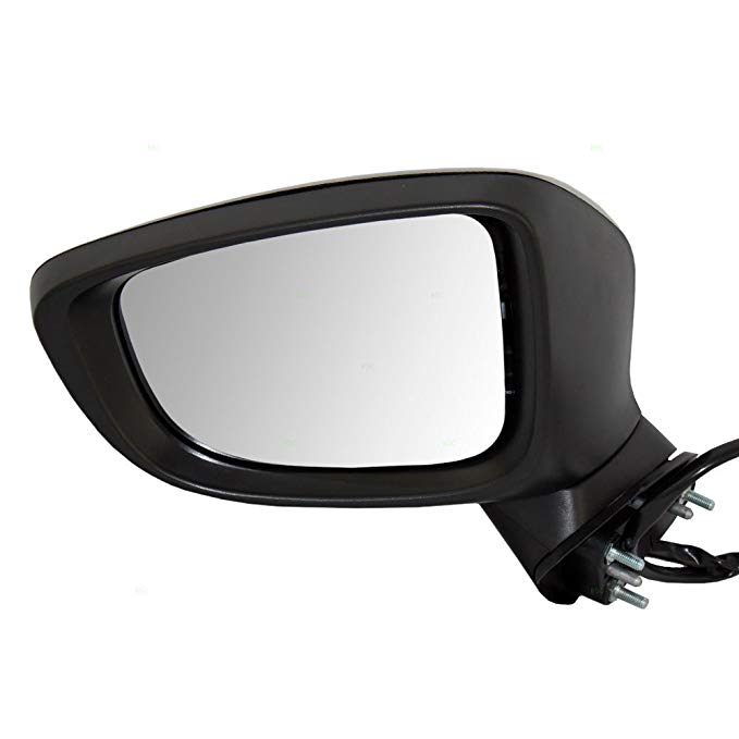 Power Mirror For 1994-1995 BMW 540i Left Manual Folding Heated Paint To Match