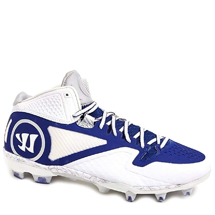 Warrior Adonis 2.0 ADONS2WB メンズ Lacrosse Cleats 15 2E (海外取寄せ品)
