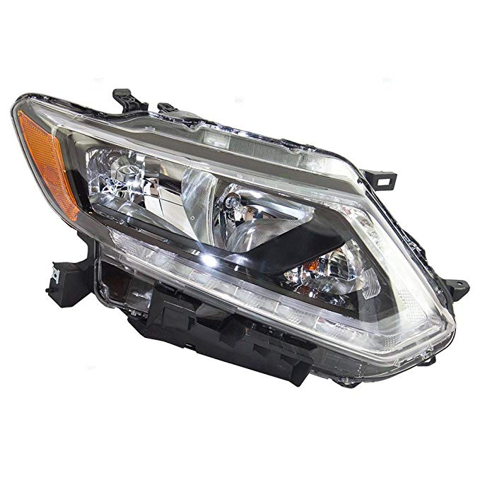 Passengers Halogen Headlight Headlamp リプレイスメント for Nissan Rogue 26010-4BA2A (海外取寄せ品)