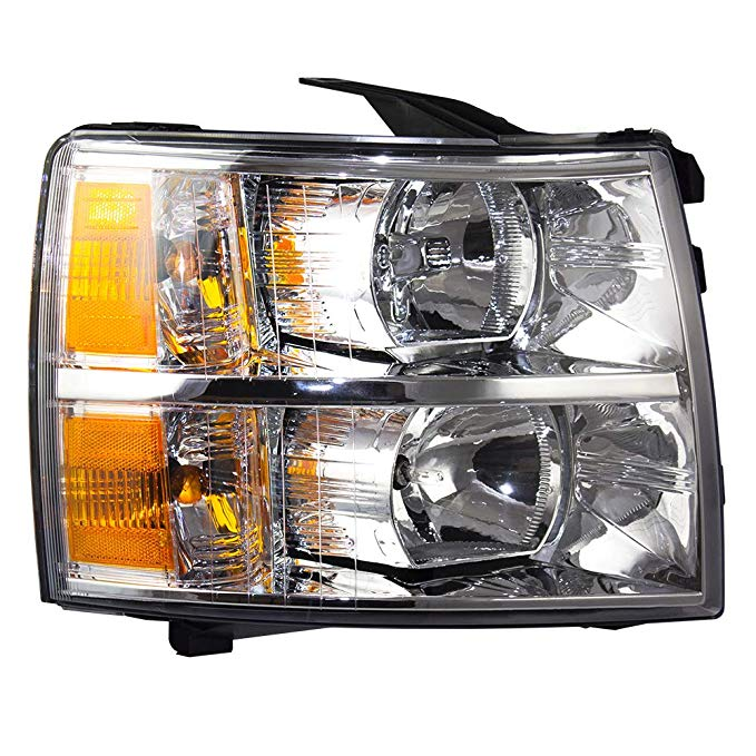 Passengers Headlight Headlamp レンズ リプレイスメント for Chevrolet Pickup Truck 22853028 (海外取寄せ品)