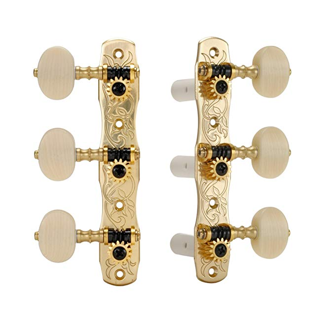 Gotoh Classical Guitar Tuners, with Ivoroid Knobs (海外取寄せ品)