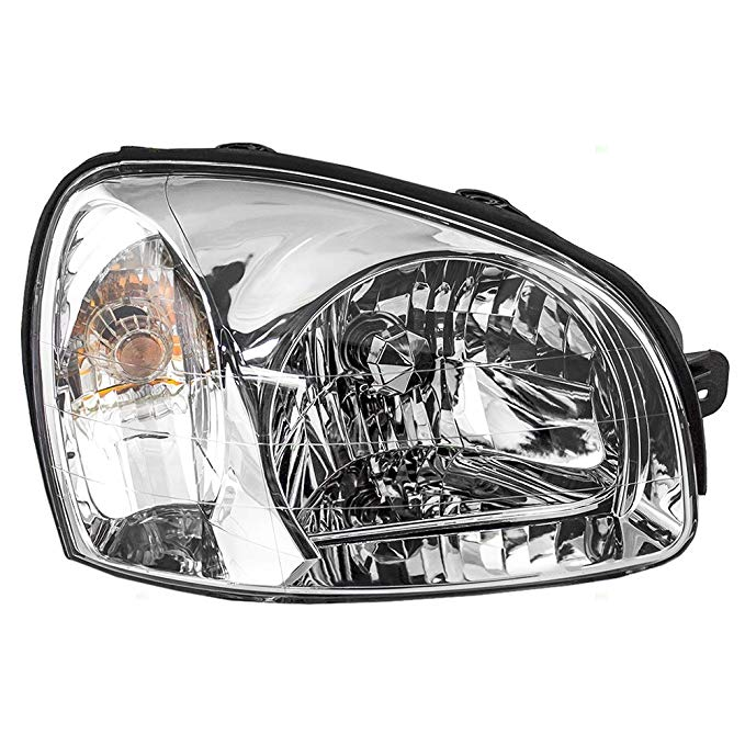 Passengers Headlight Headlamp リプレイスメント for Hyundai SUV 92102-26250 (海外取寄せ品)