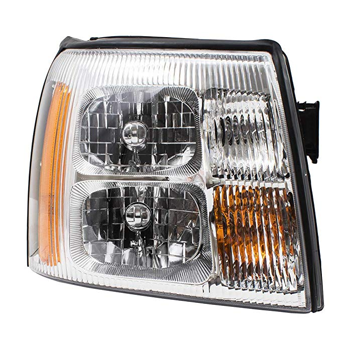 Passengers Halogen Headlight Headlamp リプレイスメント for Cadillac SUV Pickup Truck 15181850 (海外取寄せ品)