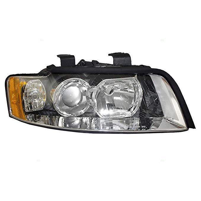 Passengers Halogen Headlight Headlamp リプレイスメント for Audi 8E0 941 030 F (海外取寄せ品)