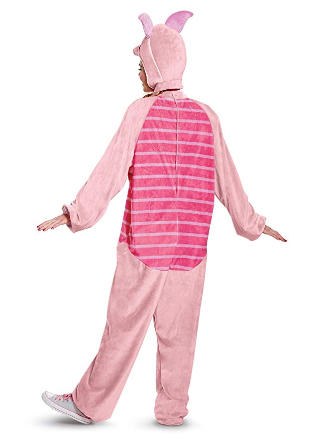 Disguise ウィニー ザ プー Winnie the Pooh Piglet Deluxe アダルト コスチューム Medium (海外取寄せ品)