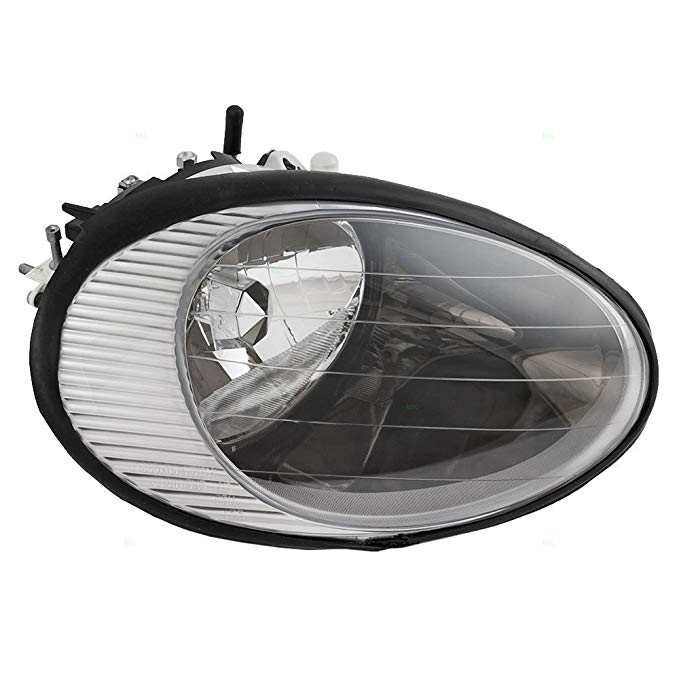 Passengers Headlight Headlamp with クローム Reflector リプレイスメント for Ford F6DZ 13008 A (海外取寄せ品)
