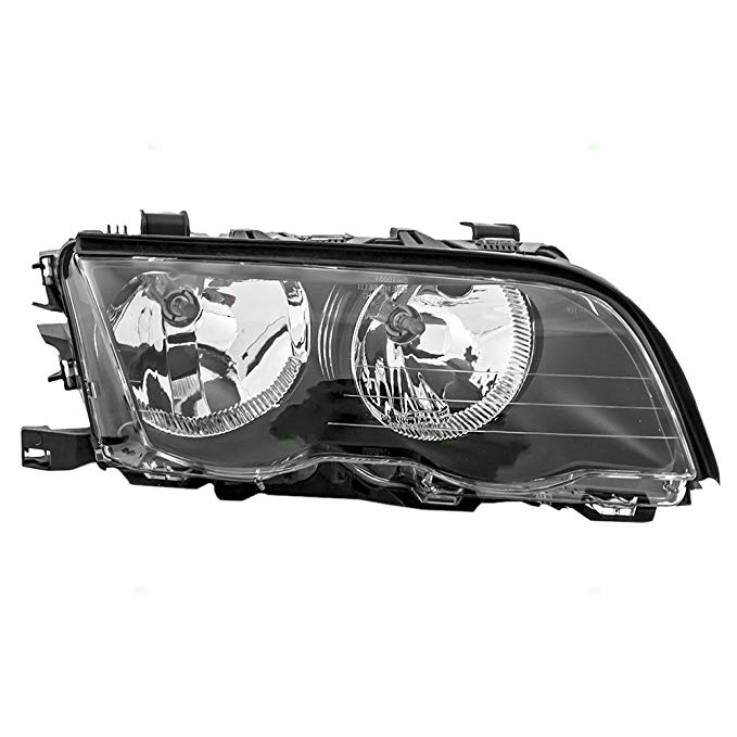 Passengers Halogen Headlight Headlamp リプレイスメント for BMW 3 Series 63 12 6 902 754 (海外取寄せ品)