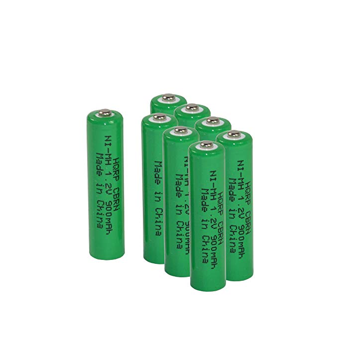 HQRP 8-パック Ni-Mh Rechargable Batteries 1,2V 600mAh for Favorest Walkie Talkies for キッズ FA-1 Plus HQRP Coaster 「汎用品」(海外取寄せ品)