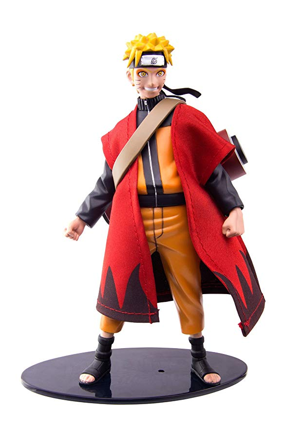 "ナルト Naruto SDCC 2018 Toynami Convention Exclusive 6"" Sage Mode with Scroll (海外取寄せ品)"