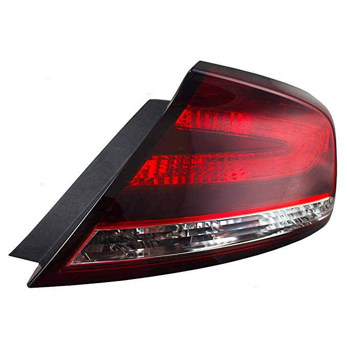 Passengers Taillight Tail ランプ レンズ リプレイスメント for Honda Civic Coupe 33500-TS8-A51 HO2801187 (海外取寄せ品)