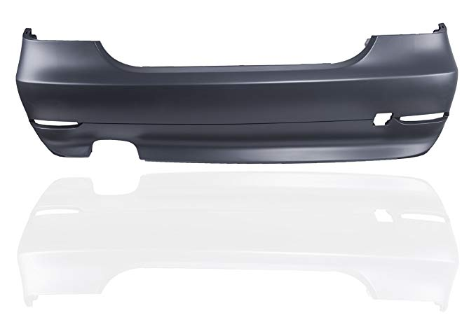 AUTOPA 51127077939 Primered Rear Bumper カバー BMW 5 Series E60 セダン 2004-2007 (海外取寄せ品)