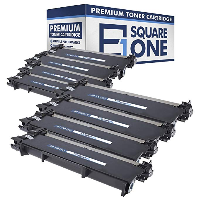eSquareOne Compatible ハイ Yield Toner Cartridge リプレイスメント for Brother TN660 TN630 (Black, 8-Pack) (海外取寄せ品)