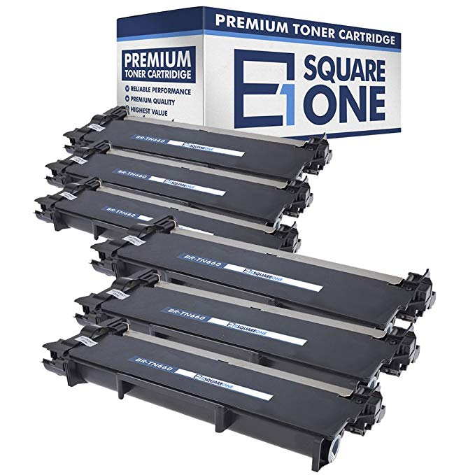 eSquareOne Compatible ハイ Yield Toner Cartridge リプレイスメント for Brother TN660 TN630 (Black, 6-Pack) (海外取寄せ品)