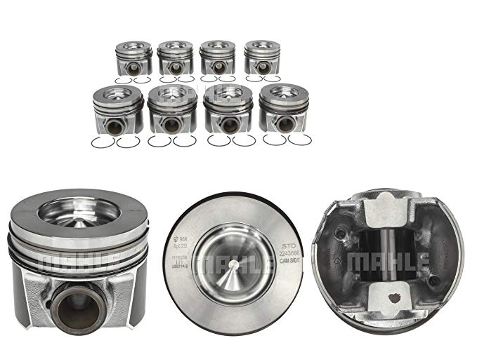 2008-2010 Ford Powerstroke 6.4 Piston & リング キット 224-3666WR (.030 bore) (海外取寄せ品)
