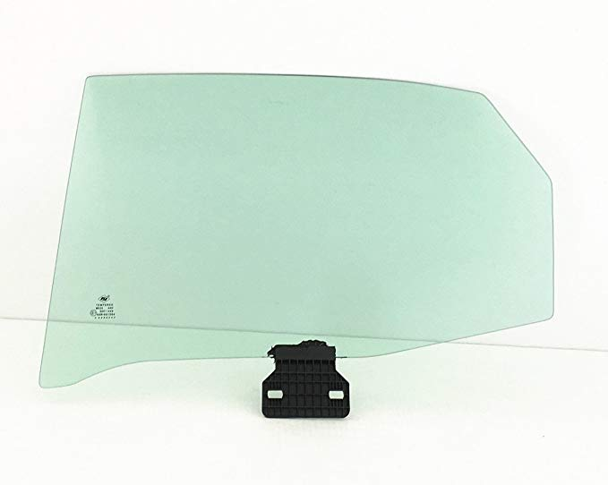 NAGD フィット Audi A4 S4 RS4 4DR セダン ドライバー Side Left Rear Door ウィンドウ ガラス (海外取寄せ品)