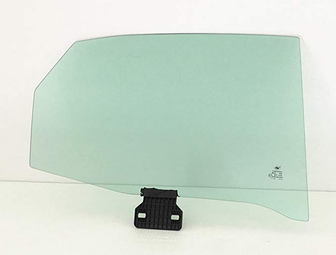 NAGD フィット Audi A4 S4 RS4 4DR セダン Passenger Side Right Rear Door ウィンドウ ガラス (海外取寄せ品)