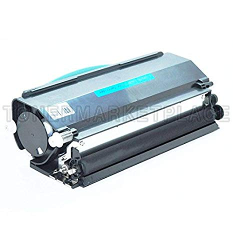 INKUTEN c Compatible ブラック Laser Toner Cartridge for Lexmark E260A11A (海外取寄せ品)[汎用品]
