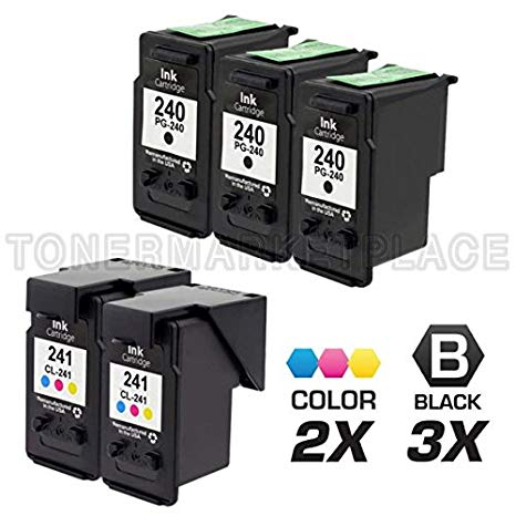 INKUTEN 5 PIXMA MG3220 Ink Cartridges コンボ パック (Compatible) (海外取寄せ品)[汎用品]