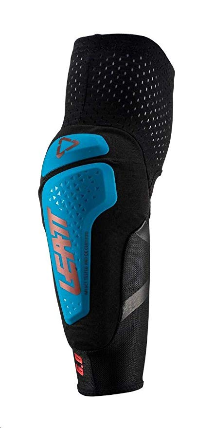 Leatt 3DF 6.0 Elbow Guards-Fuel/Black-S (海外取寄せ品)