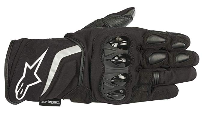 T-SP W Drystar 防水 Motorcycle Glove (2 XL, Black) (海外取寄せ品)
