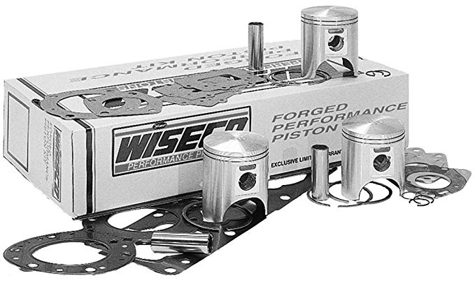 Wiseco WK1268 80.50 mm 2-Stroke Watercraft Piston キット with Top-エンド Gasket キット (海外取寄せ品)