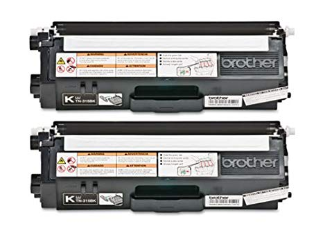 Brother Genuine TN-315BK (TN315BK) ハイ Yield ブラック Laser Toner Cartridge 2-パック (海外取寄せ品)