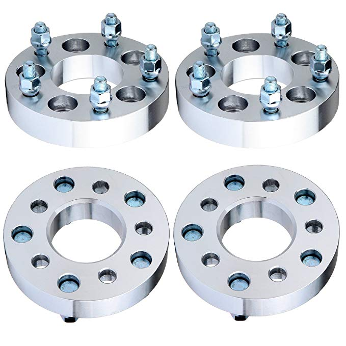ECCPP Wheel Spacer for トヨタ TOYOTA, リプレイスメント for Wheel Spacer 5 Lug 4X 1.25 5x4.5 to 5x5 73mm for 2006-2008 トヨタ TOYOTA Highlander/Tacoma/RAV4 Dodge Caravan/グランド Caravan with 12x1.5 スタッド (海外取寄せ品)
